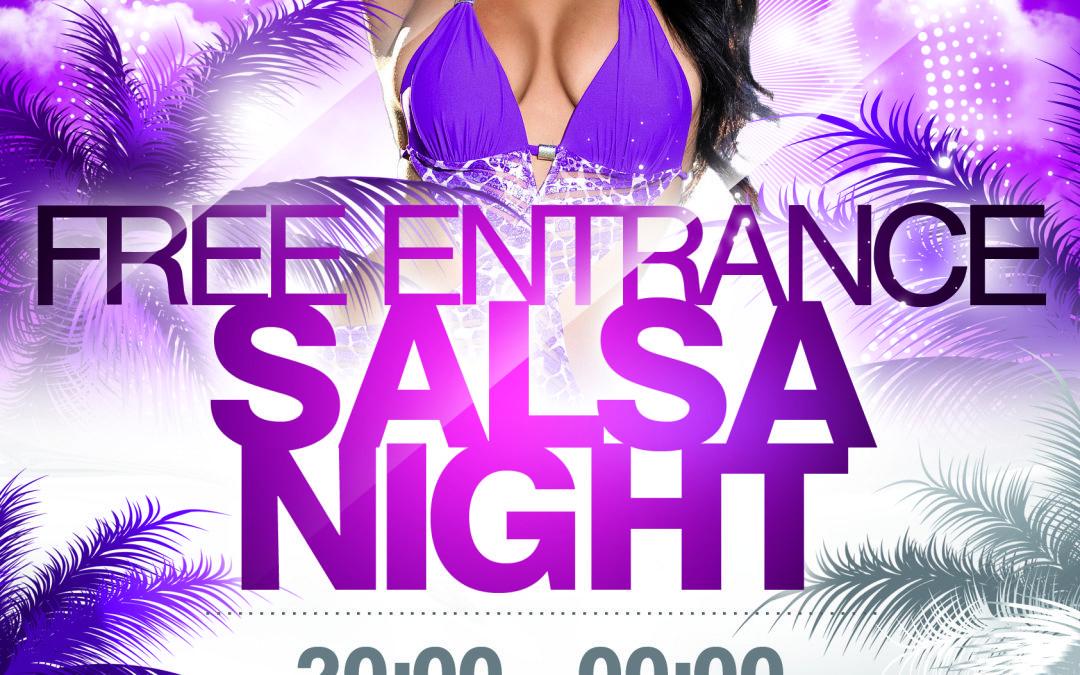 Kom elke zondag gratis vrijdansen bij Union Salsa Dance Company!
