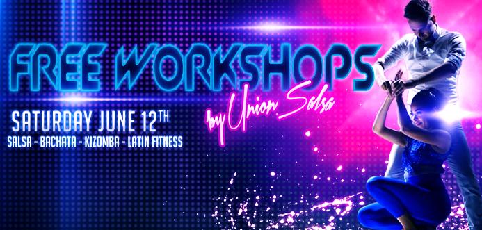 Gratis een nieuw dansstijl proberen? Kom naar Union's Workshop Day