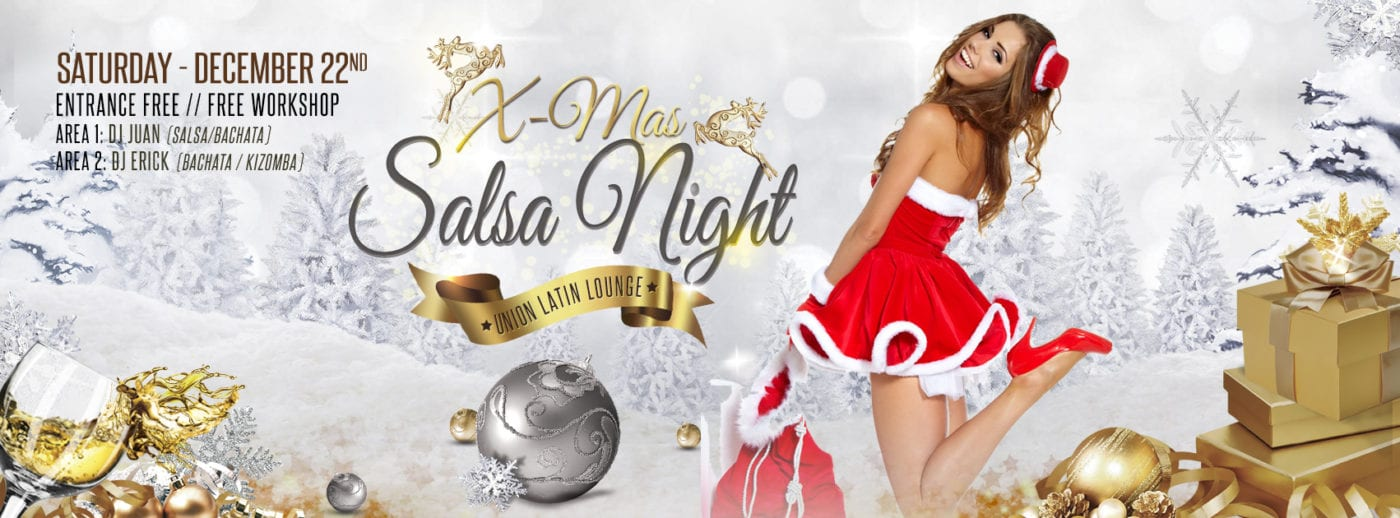 Salsa Party Zaterdag met 2 djs (website)