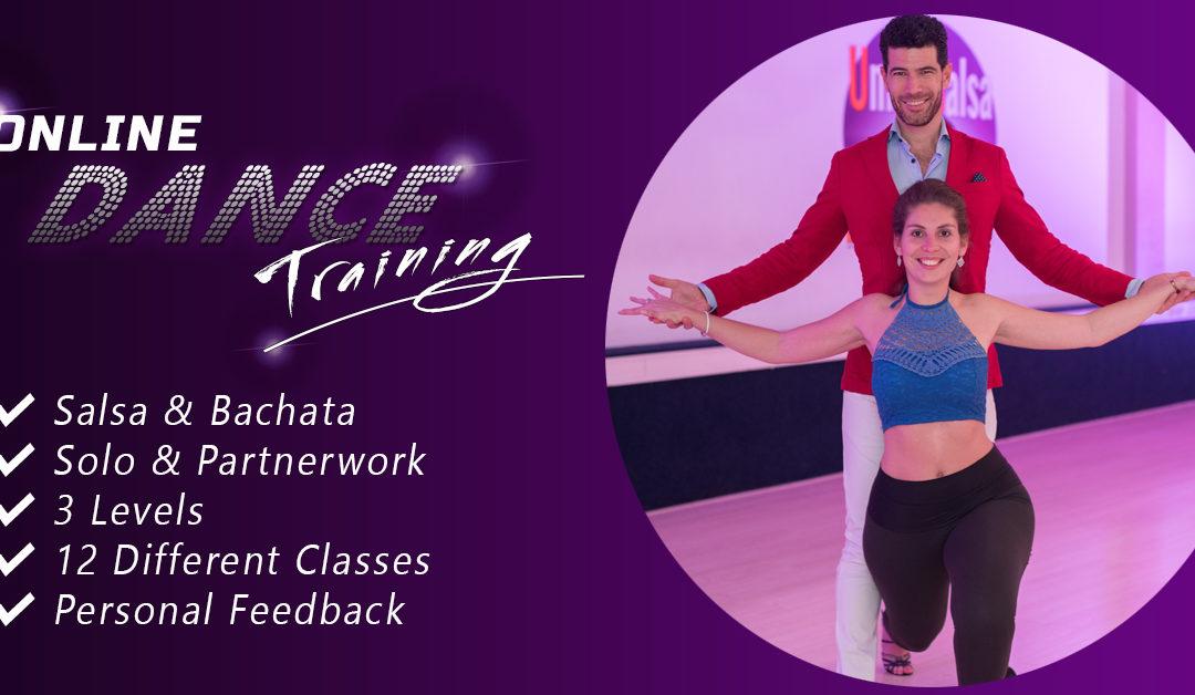 NIEUW: Online Danslessen | Salsa & Bachata | Solo & Partner