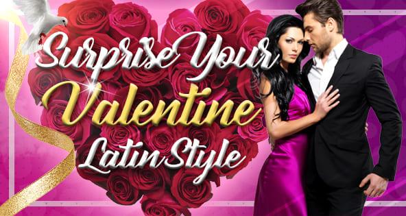 Verras je Valentijn als een Latino