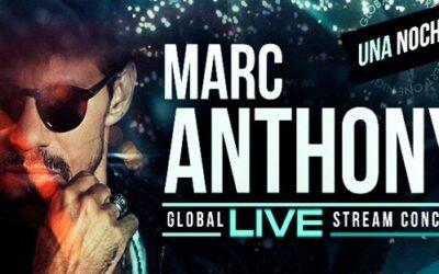 Gratis Salsa Concert Marc Anthony – Una Noche